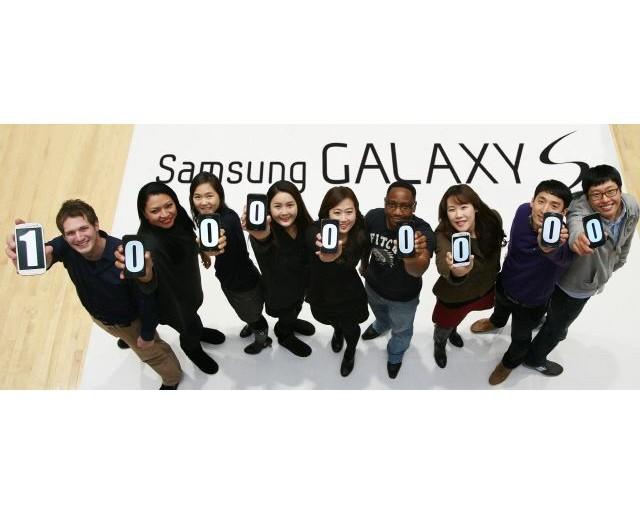 Samsung 100 millions Galaxy S