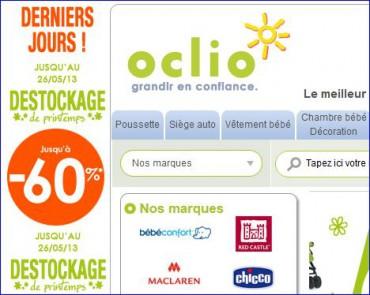 Site OCLIO, puériculture