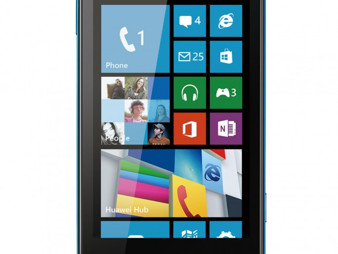 HUAWEI W1 sous Windows Phone 8