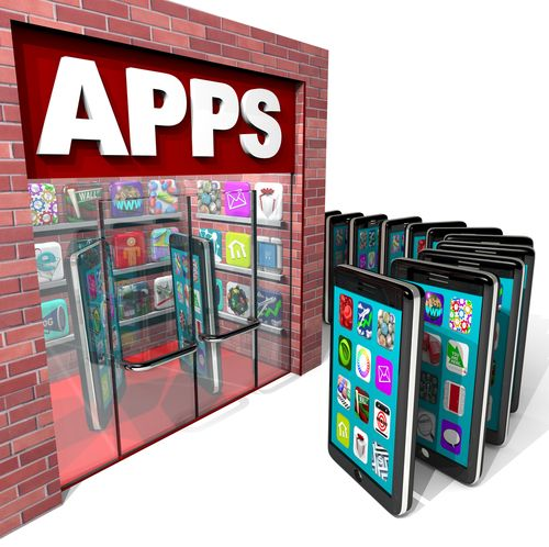 App Store (crédit photo © iQoncept - shutterstock)