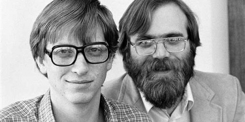 Bill Gates - Paul Allen