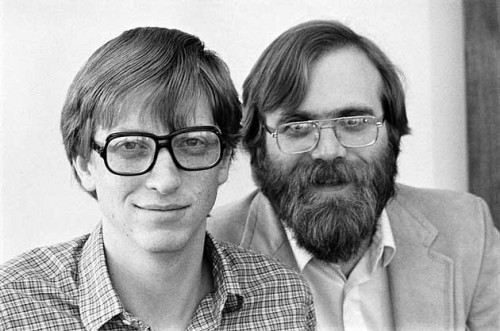 Bill Gates - Paul Allen