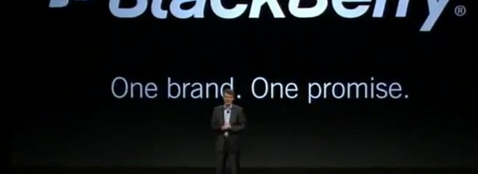 BlackBerry dossier lancement BlackBerry 10