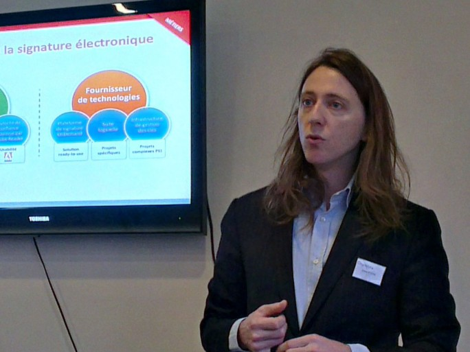 Julien Stern, CEO et cofondateur de Cryptolog