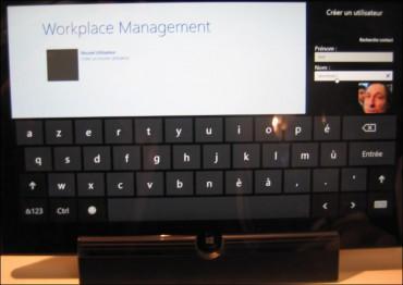 Devoteam, wordplace management, écran création 'user'