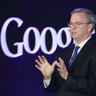Eric Schmidt, président de Google