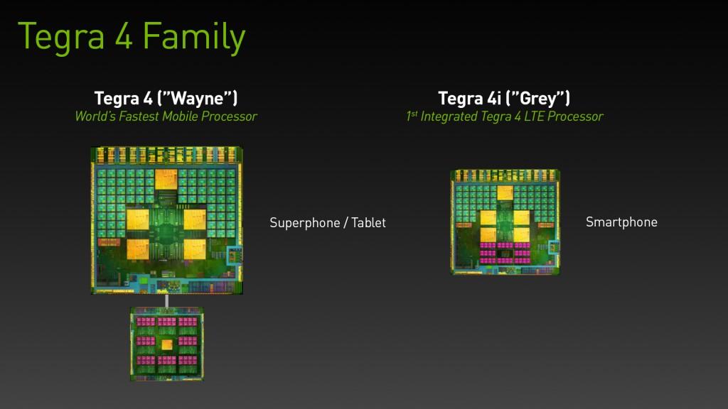 Nvidia - Tegra 4 Family