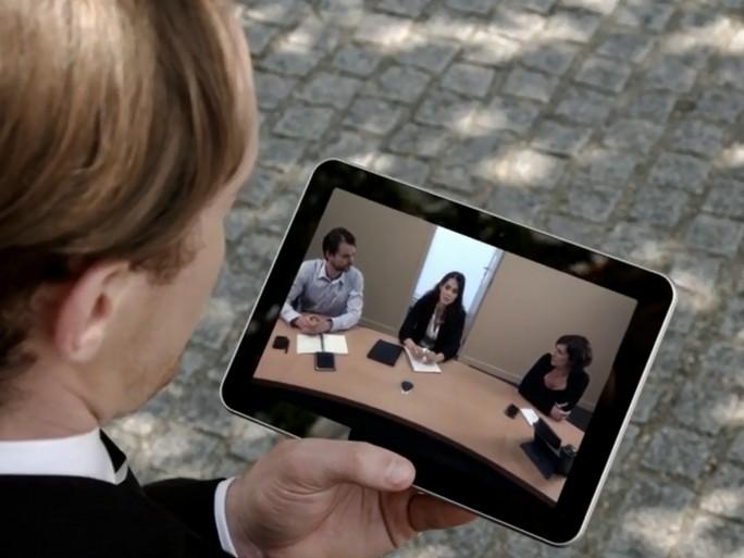 Orange Video Meeting