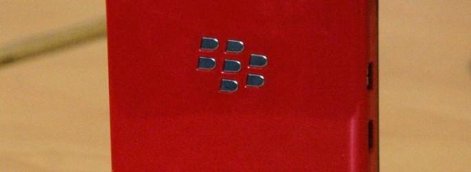 BlackBerry Z10 rouge en édition limitée
