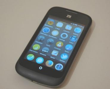 ZTE Open sous Firefox OS