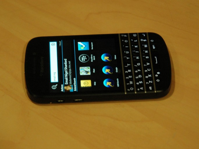 BlackBerry Q10 (photo CL)