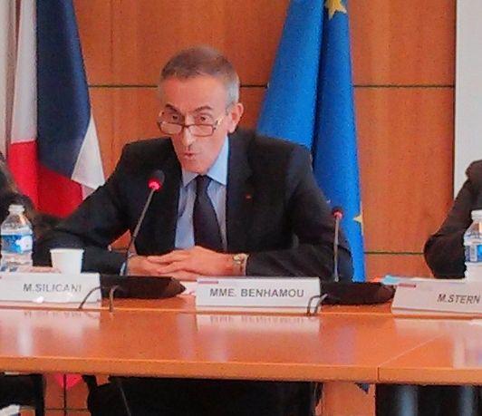 Jean-Ludovic Silicani, président de l'Arcep (mars 2013)
