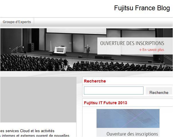 Fujitsu blog Infiniment IT