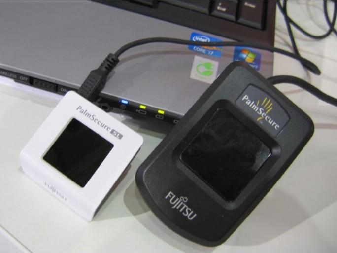 Fujitsu boîtiers sécurité PalmSecure