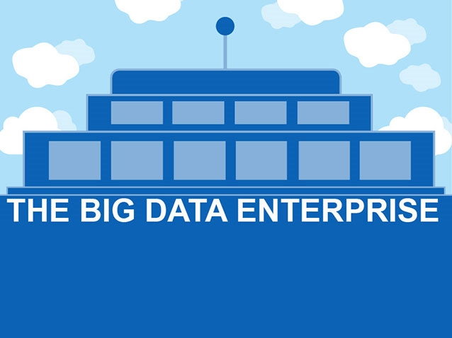 Infographie Big Data Enterprise logo © TCS