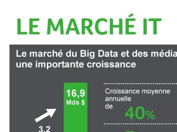 Infographie Sage marché IT logo