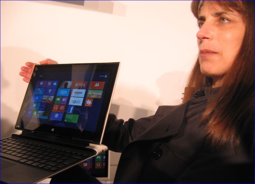 Intel, Karen Regis et l'Ultrabook de 4e génération, CeBIT 2013