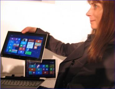 Intel et l'Ultrabook de 4e génération, détachable, au CeBIT 2013