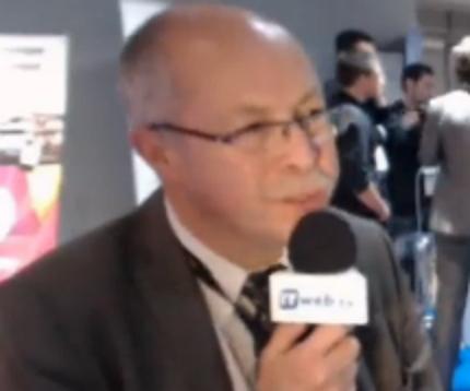Pierre Metivier, délégué général du Forum des Services Mobiles Sans Contact (FSMSC), au salon LeMobile 2013