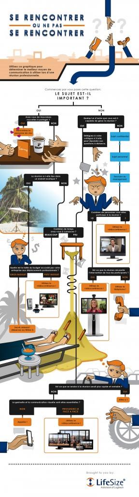 Infographie LifeSize : un algorithme pour déterminer ses besoins de visiocommunication
