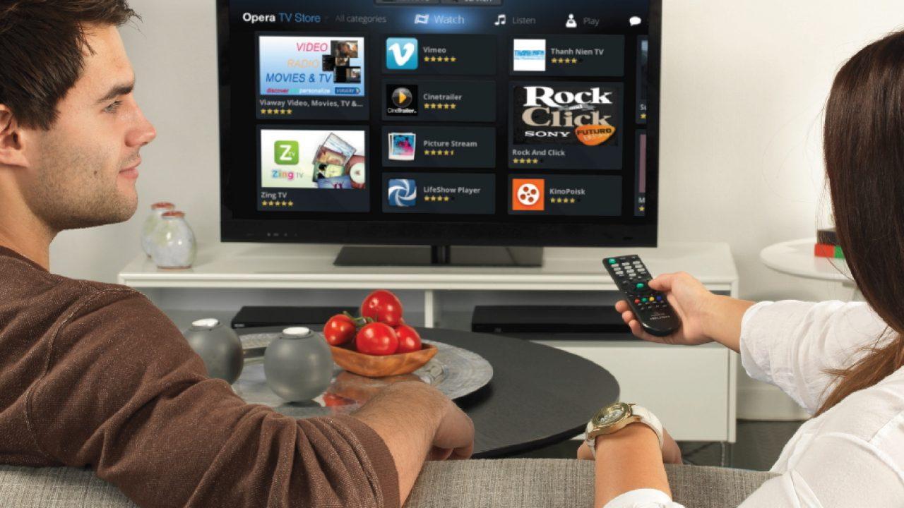 Opera TV, un store pour monétiser les contenus TV | Silicon
