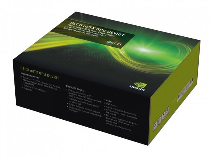 SECO mITX GPU DEVKIT box