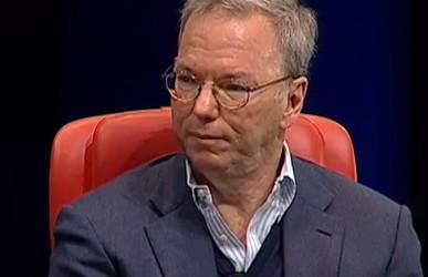 Eric Schmidt Executive President Google