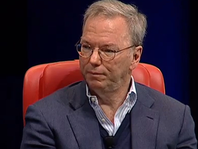 Eric Schmidt Executive President Google