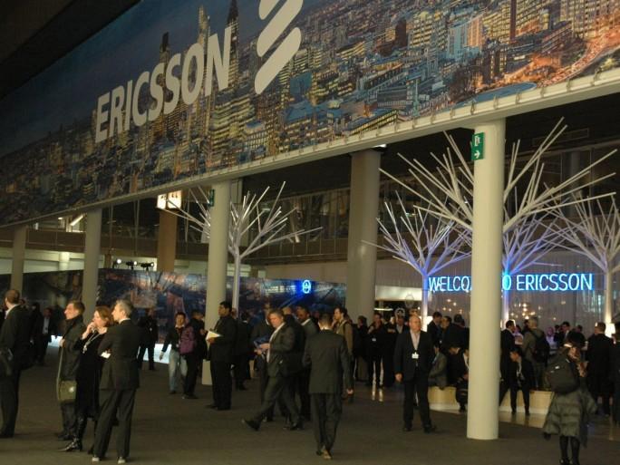 Ericsson stand du MWC 2013