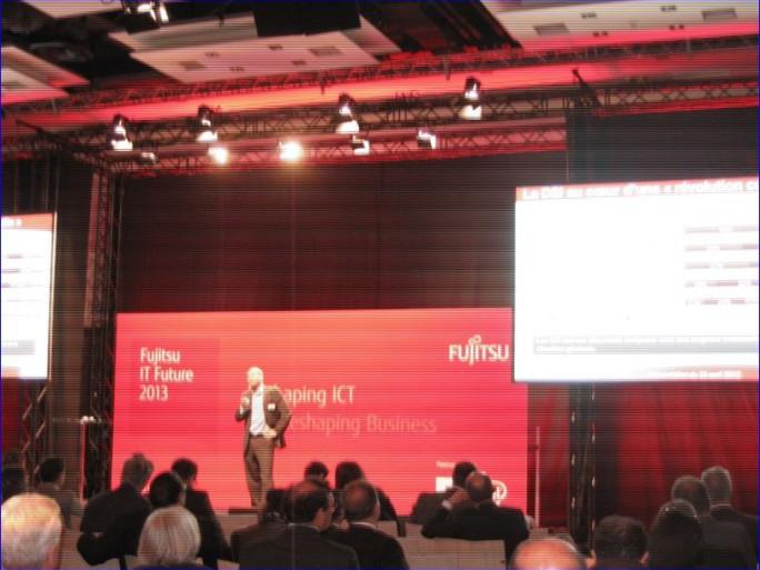 Fujitsu IT Future, Paris 23 avril 2013