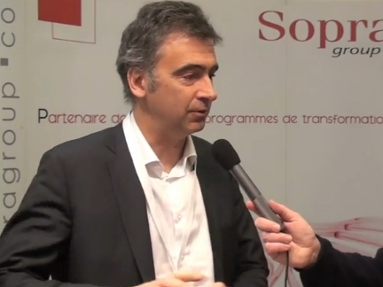 Jean-Marie Messager (Sopra Group) © Silicon.fr