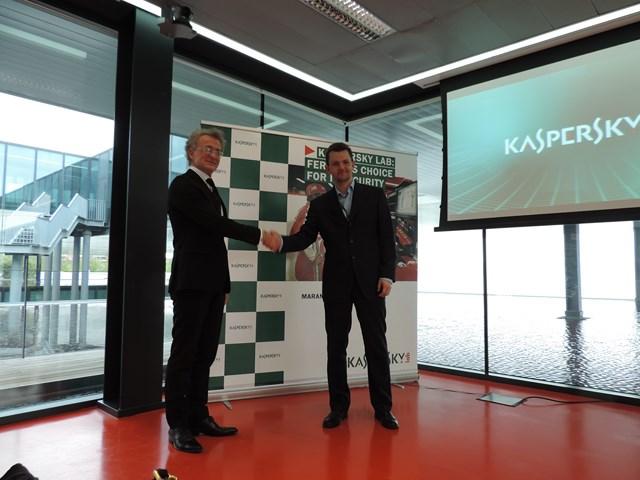 Kaspersky - Ferrari © TechWeekEurope.it