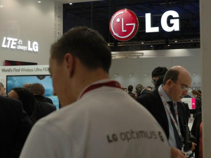 Stand LG au MWC 2013