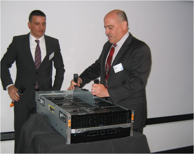 Londres, lancement du HP Moonshot 1500, par Paul Santeler