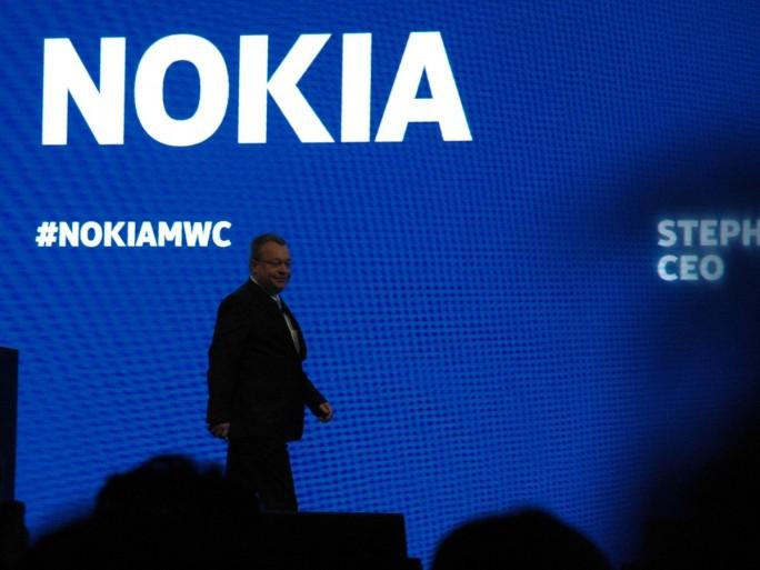 Stephen Elop, CEO de Nokia au MWC 2013