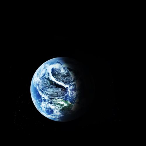 Terre planete espace (crédit photo © Denis Tabler - shutterstock)