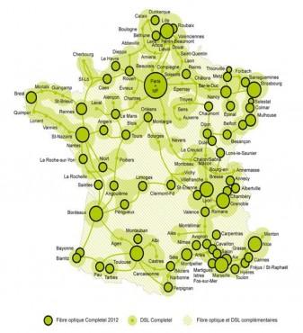 Completel couverture réseau 2013
