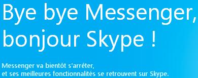 Microsoft Windows Live Messenger Skype