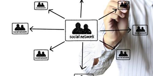 rse réseau social d'entreprise (crédit photo © violetkaipa - shutterstock)