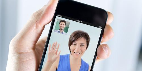 visio mobile smartphone (crédit photo © bloomua - shutterstock)