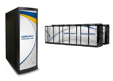 Cray XC30-AC face au Cray XC30