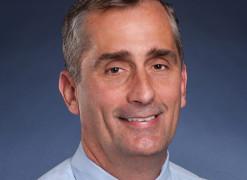 Brian Krzanich CEO d'Intel