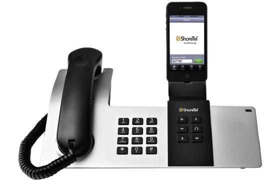 ShoreTel Dock, une station d'accueil pour faire de l'iPhone un téléphone de bureau
