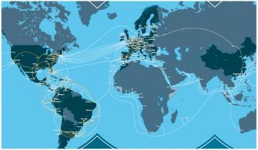 Infrastructure mondiale de Telefonica