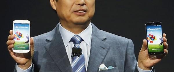 JK Shin, co-CEO de Samsung, prévoit les 10 millions de ventes du Galaxy S4 dans la semaine