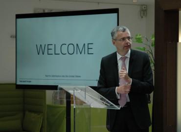 Michel Combes, PDG  d'Alcatel-Lucent