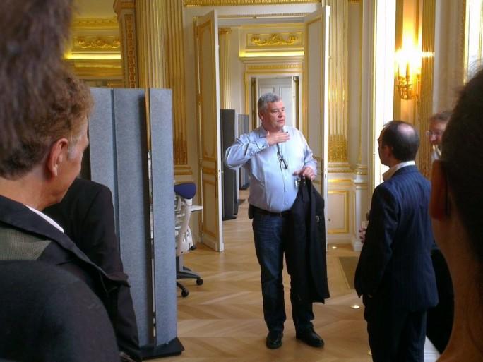 Mozilla s'installe dans le luxueux hôtel particulier Mercy-Argenteau à Paris.