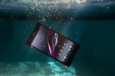 Sony Xperia Z Ultra, étanche et pro