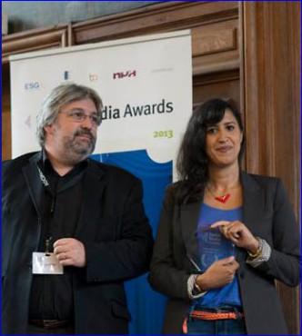 Trophée SMA  à Allociné,  Malika Duchange