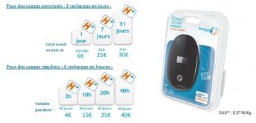 Bbox Nomad Prépayé : tarifs